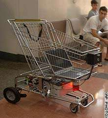 The B.O.S.S. Shopping Cart that Doesn't Run Into Things!