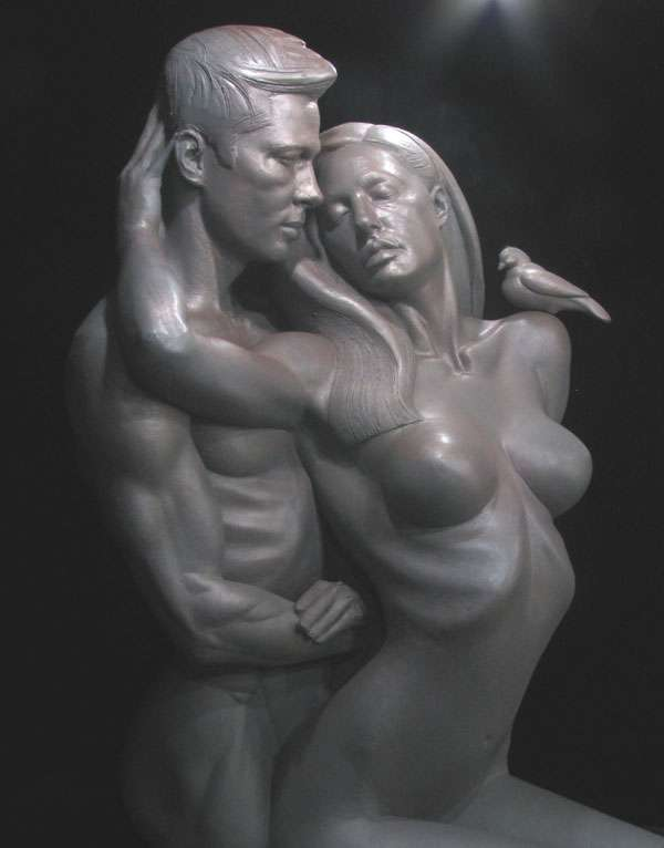 Power Couple Statues