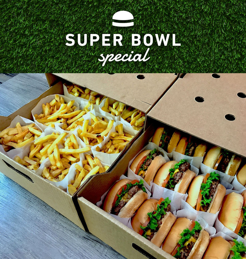 Big Game Burger Boxes