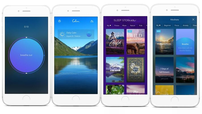 Soothing Sleep-Improving Apps