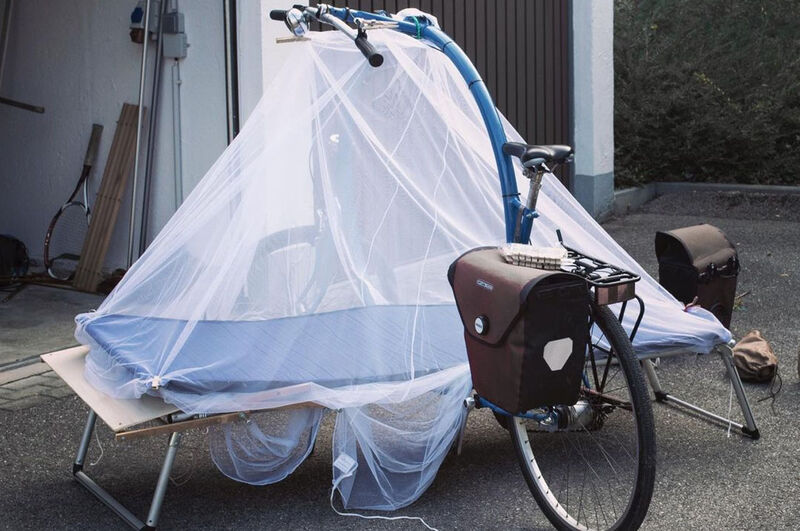 Bed-Hybrid Bicycles
