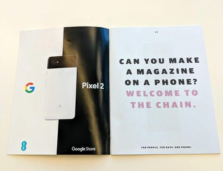 Smartphone-Created Magazines