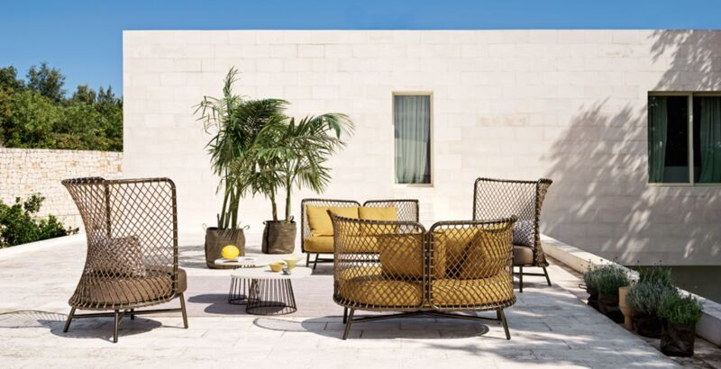 Rope-Woven Outdoor Furniture