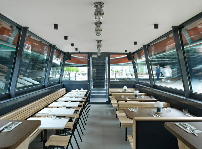 Contemporary Floating Cheese Restaurants