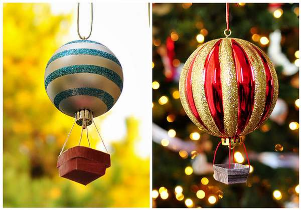 DIY Festive Flying Machines