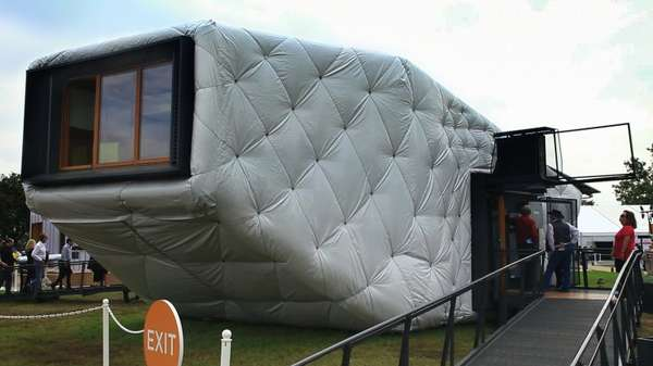 Pillow-Inspired Solar Homes