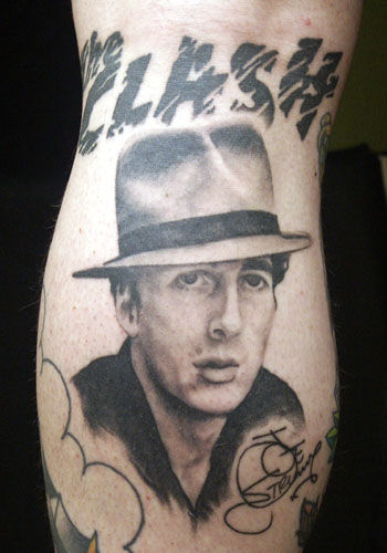 Iconic Punk Ink The Clash Tattoos