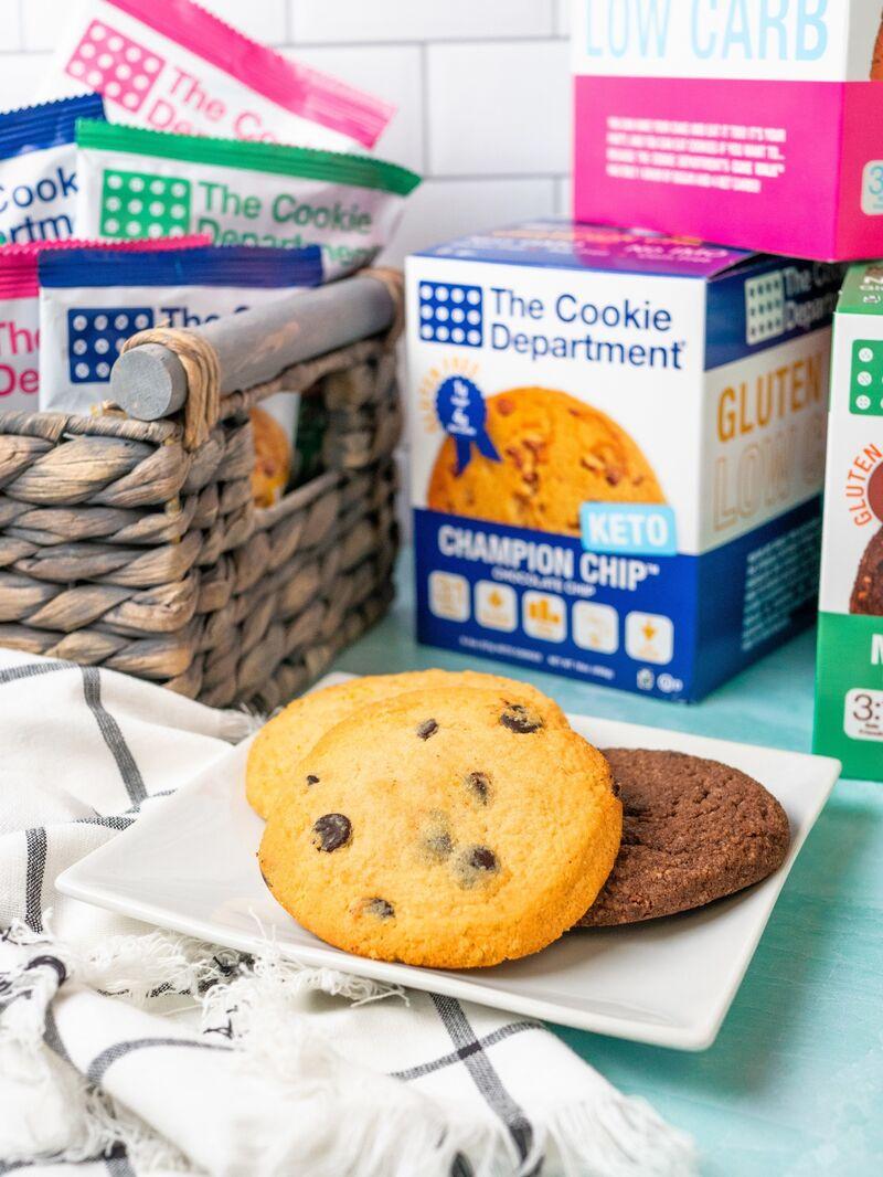 Keto-Friendly Functional Cookies