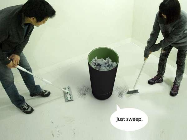 Laborless Litter Pails