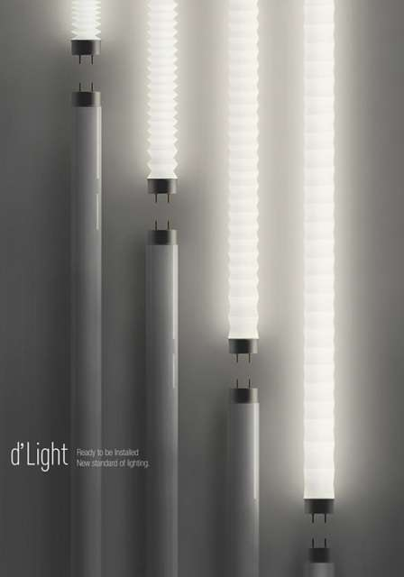 Flexible Fluorescent Bulbs