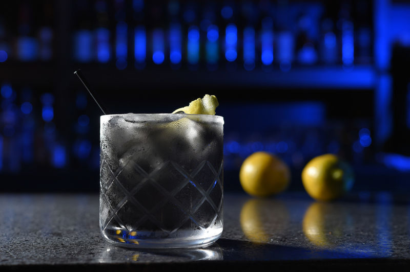Charcoal-Infused Cocktails