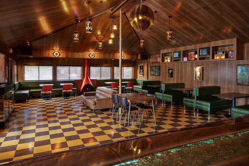 Retro 70s-Themed Motels