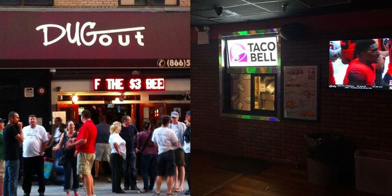 Sports Bar Taco Stands