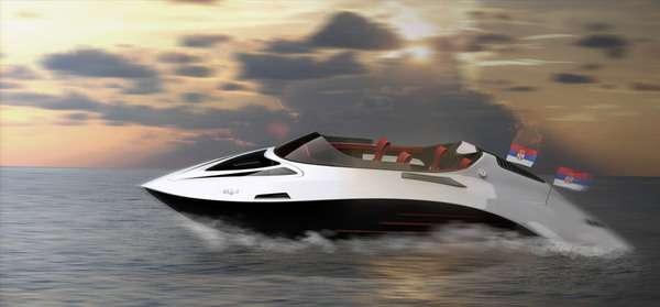 Aerodynamic Superboats