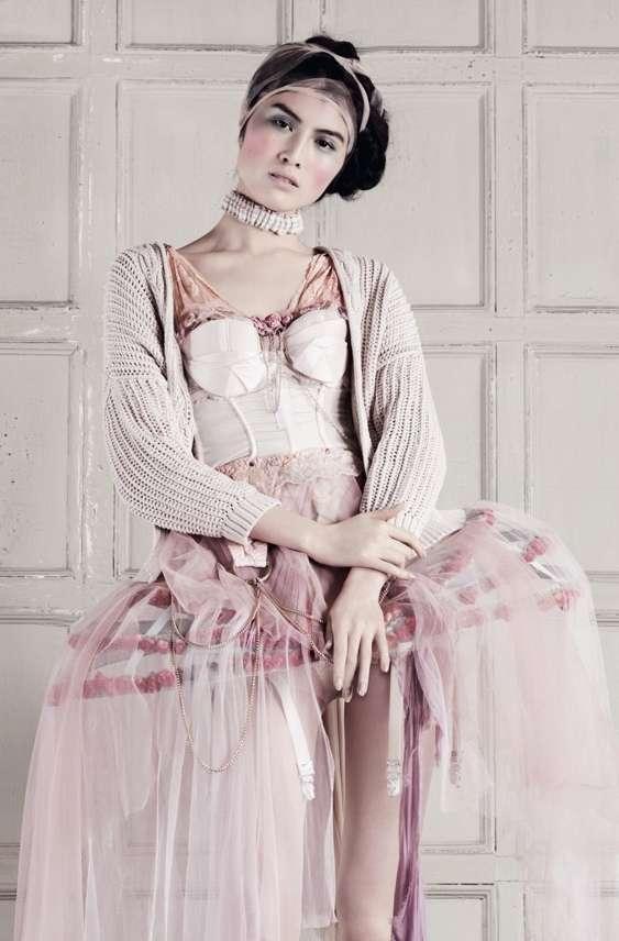 Modern Marie Antoinette Photoshoots