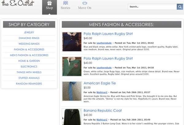 Online Breakup Bazaars