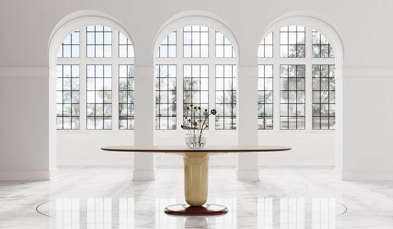 Elegant Space-Maximizing Dining Tables