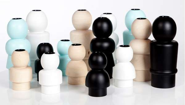 Personified Candlestick Holders