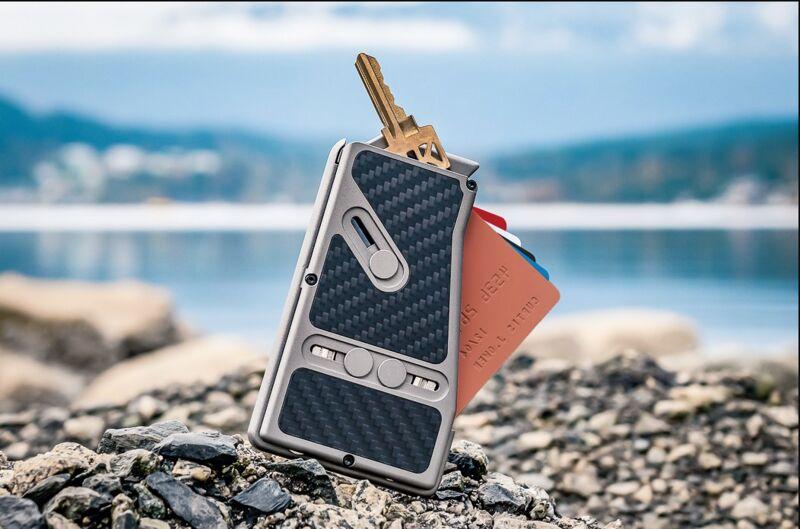 Protective Modular Metal Wallets