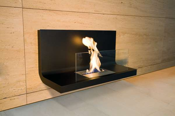 The Fireplace Goes Ultramodern