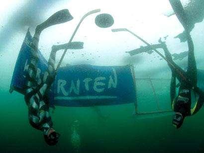 Underwater Ice Hockey World Championship