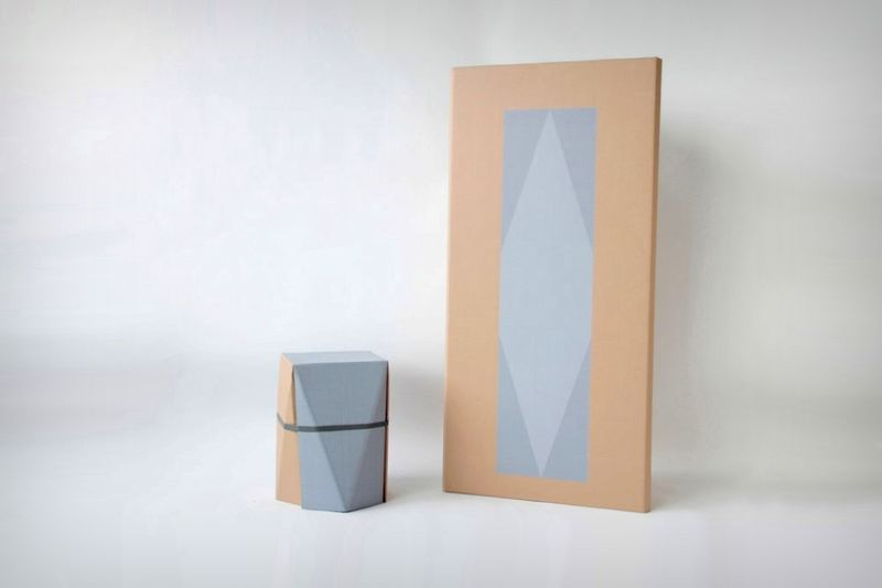 Upcycled Cardboard Stools