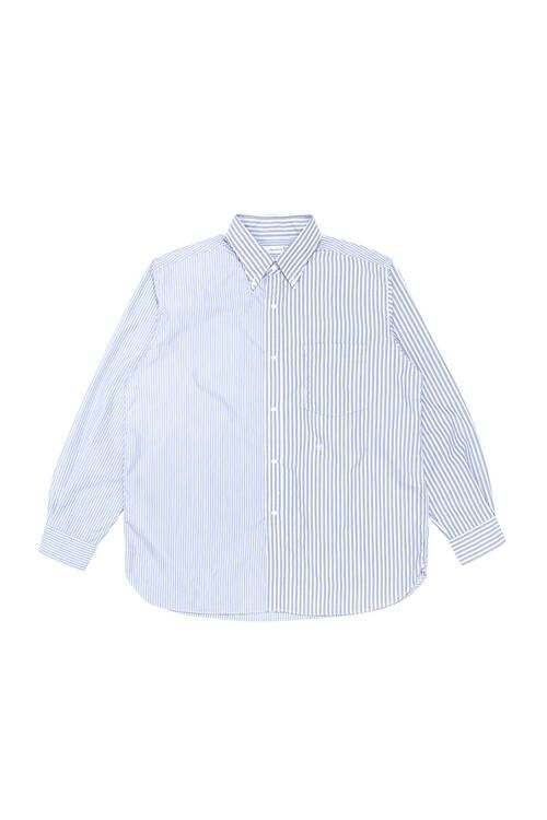 Simplistic Striped Button-Down Shirts
