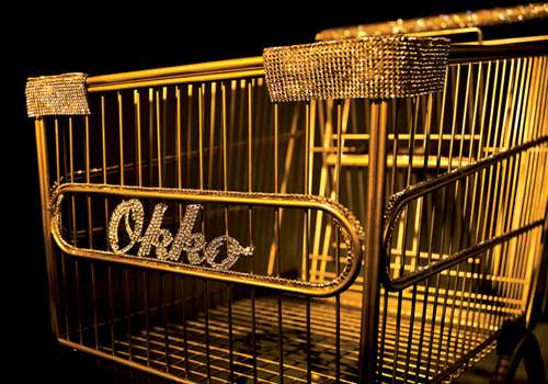 Gilded Grocery Carts