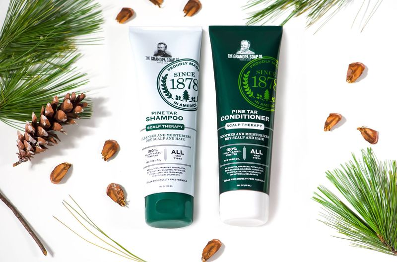 Pine Tar Haircare Collections