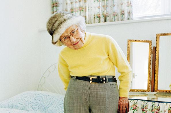 Adorable Grandmother Photography