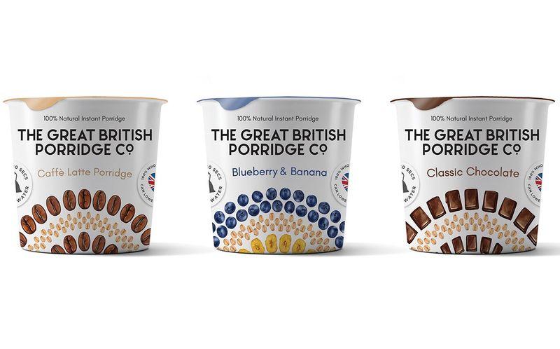 Plant-Based Porridge Pots