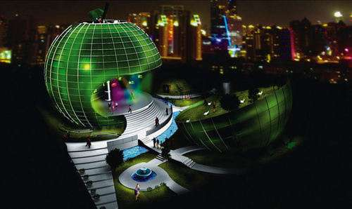 Enviro Promoting Pavilions