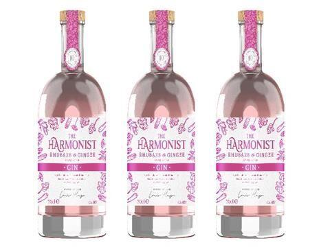 Harmonious Gin Branding