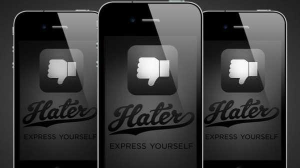 Negativity Ranking Apps