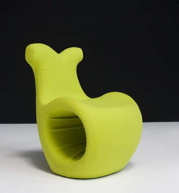 Snail Inspired Furniture Helix Chair By Karmelina Martina
