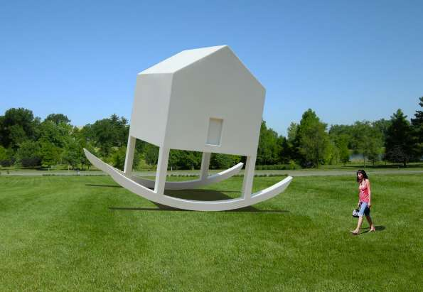 Home-Inspired Public Sculptures