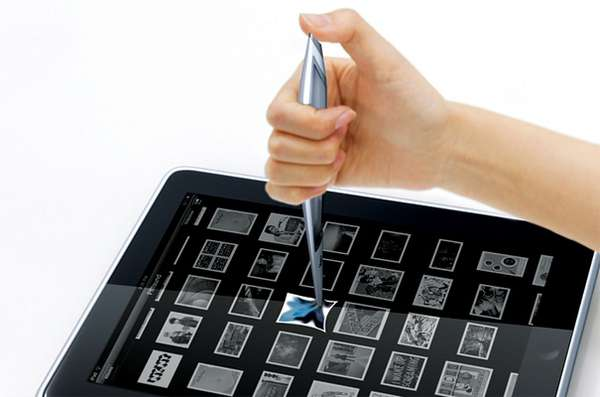 Tablet-Organizing Styluses