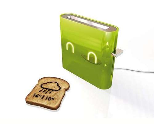 Futuristic Forecasting Toasters The Jamy Toaster