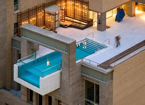 Urban Rooftop Pools The Joule Hotel