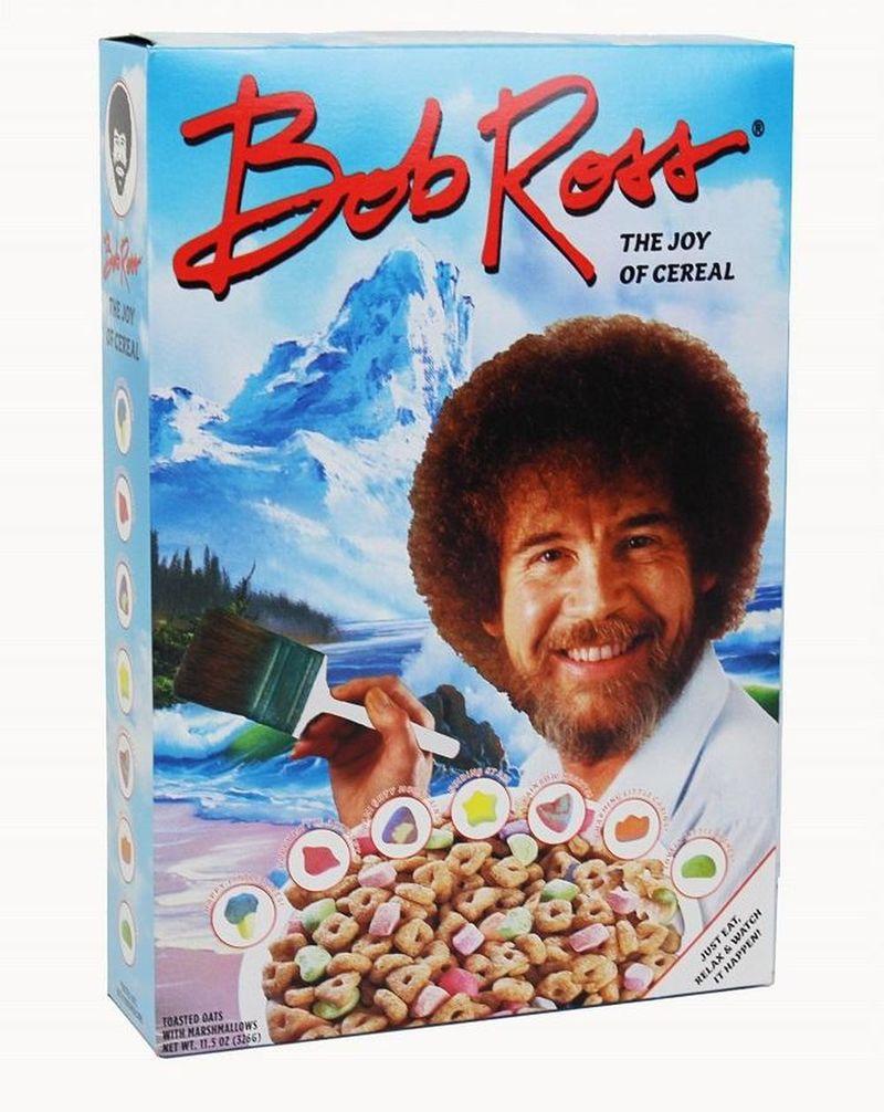 Nostalgic Artist Cereals