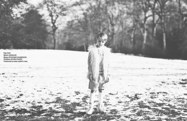 Snowy Bunny-Eared Editorials