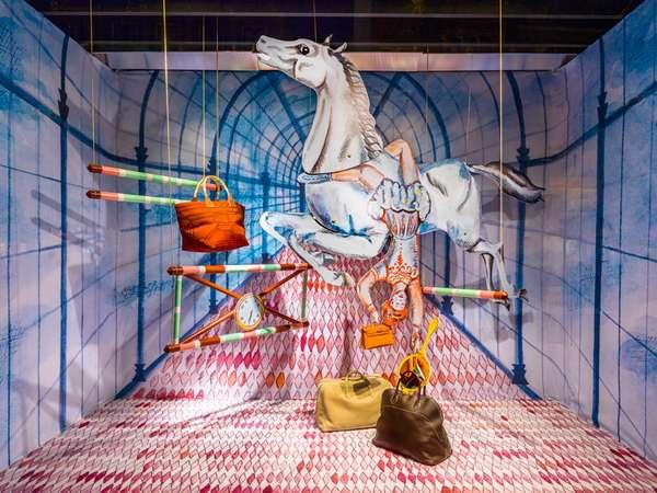 Surreal Circus Scenes