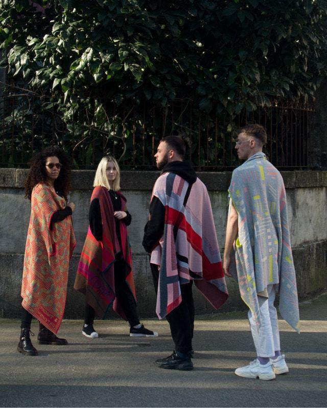 Feminine Bauhaus-Inspired Garments