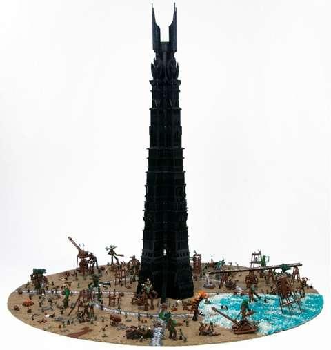 Epic Toy Brick Battles