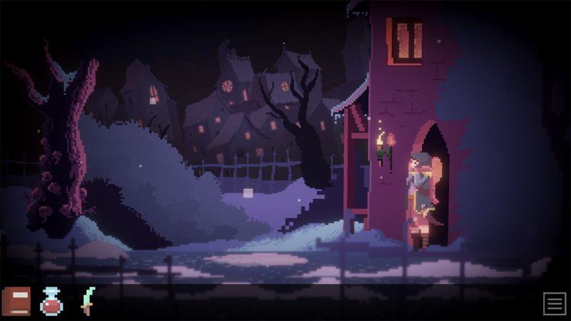 Atmospheric Pixel Art Games
