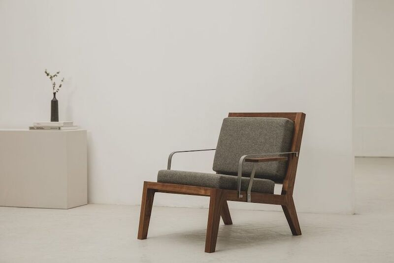 Minimalist Locally-Made Lounge Chairs