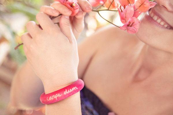 DIY Mantra Bracelets