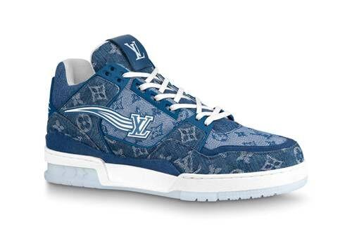 Low-Top Monogram Luxe Sneakers