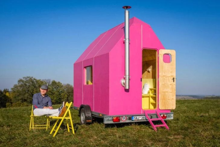 Magenta Compact Living Spaces