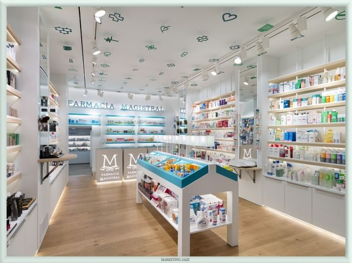 Whimsical Pharmacy Interiors